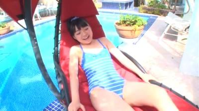 ビキニでポロリ!? ハッピー!るなぴー!/見上瑠那 ジュニアアイドル無料着エロ動画
