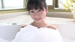 ジュニアアイドルが泡だらけ!葉月らん 『若葉 萌える』 無料サンプル動画