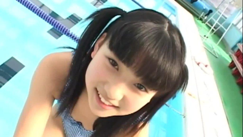 ジュニアアイドルのレオタード着エロ 紺野さゆり / 半熟むきたてたまご 無料サンプル動画あり