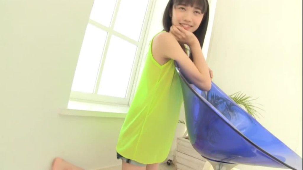 ビキニでポロリ!? 咲田ななえ 純真アイドル独り占め ジュニアアイドル無料着エロ動画