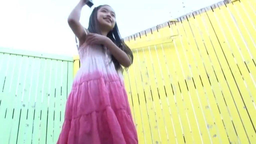 黒髪ロングの清楚系ジュニアアイドル チルチルvol.48 あゆみちゃん 無料サンプル動画