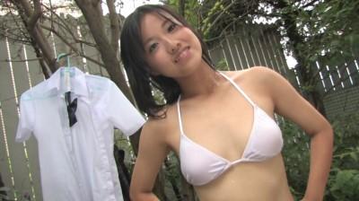 ビキニでポロリ!? 水色のメロディ 内山薫 ジュニアアイドル無料着エロ動画