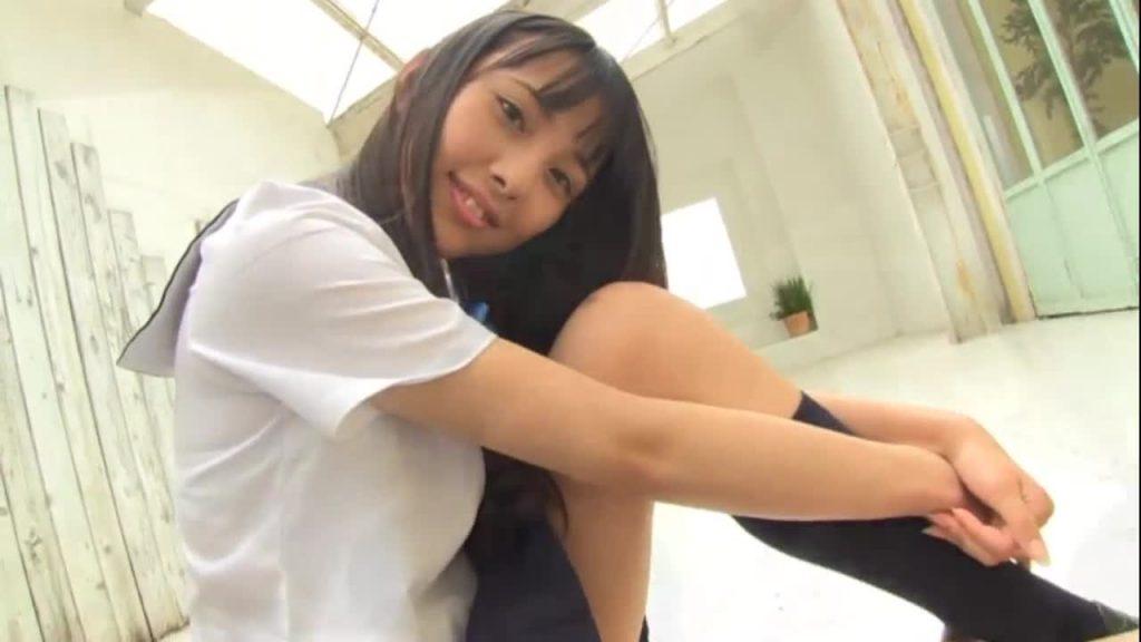 ビキニでポロリ!? 松本映美 美少女は純真 ジュニアアイドル無料着エロ動画