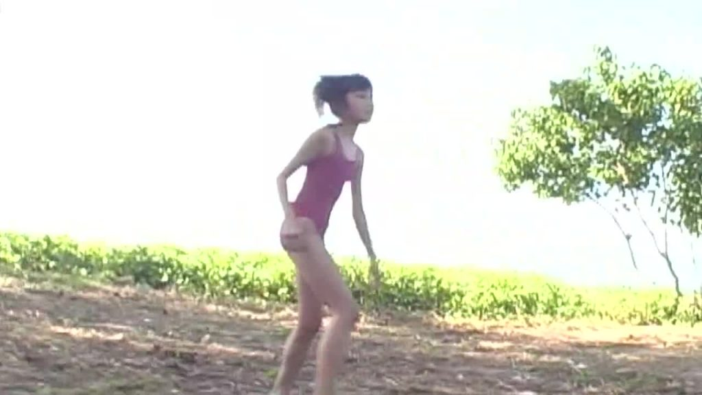 ビキニでポロリ!? あのねのね 橋本英子 ジュニアアイドル無料着エロ動画