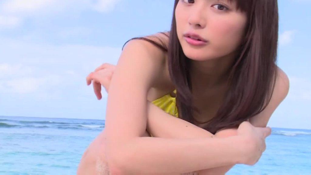 ジュニアアイドルのレオタード着エロ DokkiRIO / 内田理央 無料サンプル動画あり