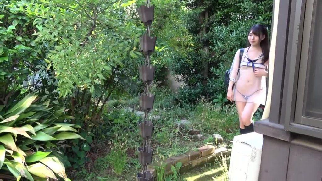 黒髪ロングの清楚系ジュニアアイドル 妄想の中でキミと僕は・・・鳴海千秋 無料サンプル動画