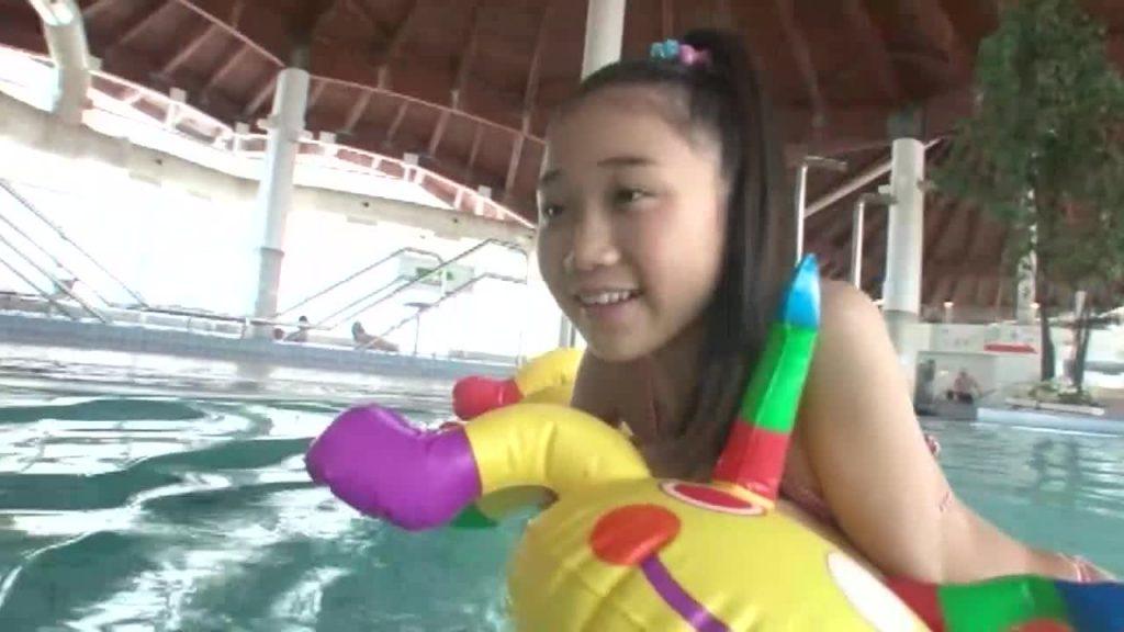 黒髪ロングの清楚系ジュニアアイドル ラブリー天使 大宮沙苗 無料サンプル動画