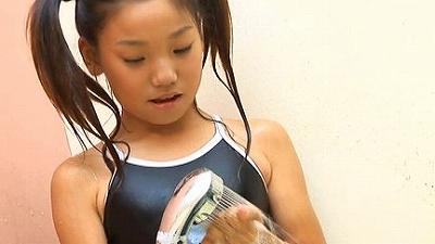 ジュニアアイドル体操着 貫月愛華 くりぃむパイ 無料着エロ動画